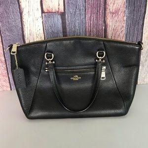 Coach Leather Medium Hand Bag/Satchel